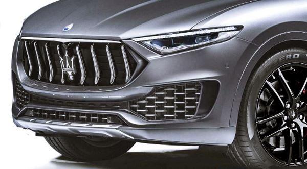 2021 Maserati Levante Design