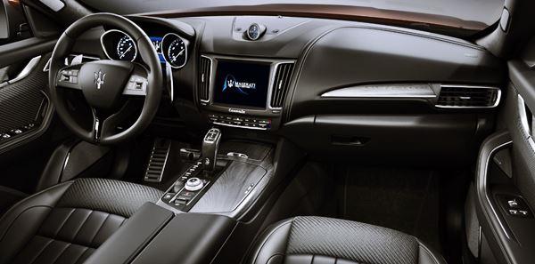 2021 Maserati Levante Interior