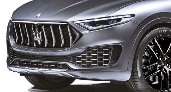 2021 Maserati Levante Trofeo Facelift
