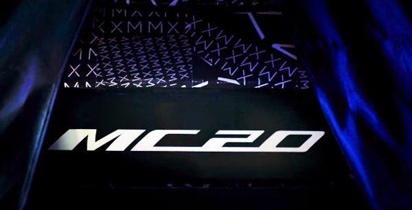 2021 Maserati MC20 Engine