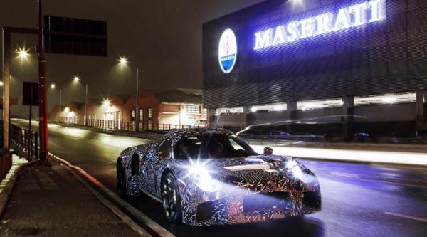 2021 Maserati MC20 Release
