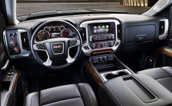 2022 GMC Jimmy Interior Design