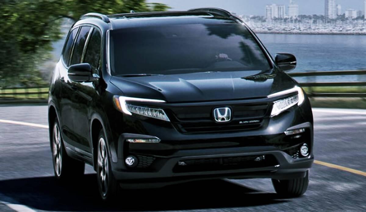 New Honda Pilot Redesign 2022 Design