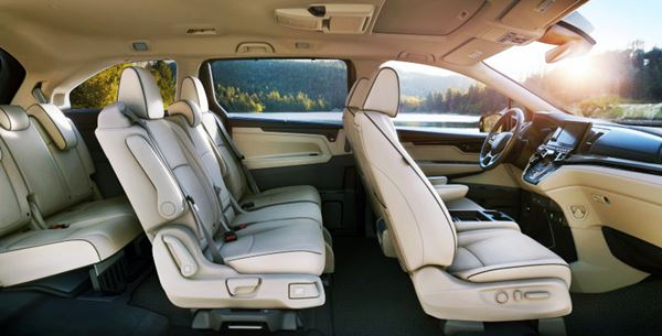 2022 Honda Odyssey New Interior
