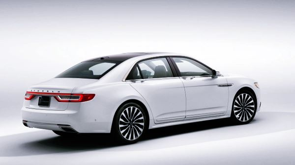 2022 Lincoln Continental Design