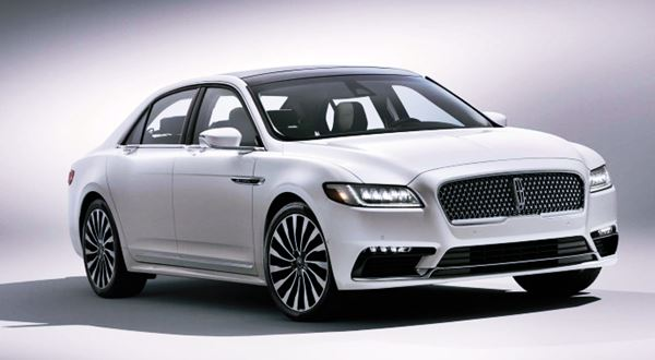 New 2022 Lincoln Continental Design