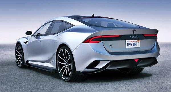 New 2022 Tesla Model S Design