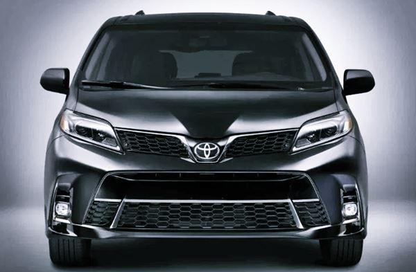 New 2022 Toyota Sienna Exterior