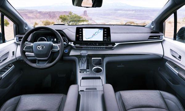 New 2022 Toyota Sienna Interior