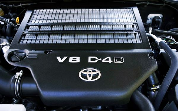 New 2022 Toyota Tundra Engine