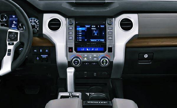 New 2022 Toyota Tundra Interior
