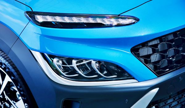 2022 Hyundai Kona Exterior Redesign