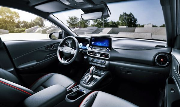 2022 Hyundai Kona Interior Redesign