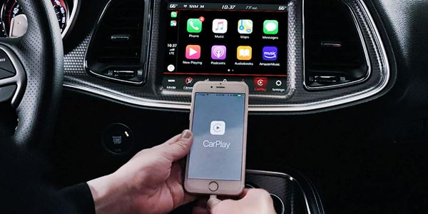New 2022 Dodge Charger Infotainment