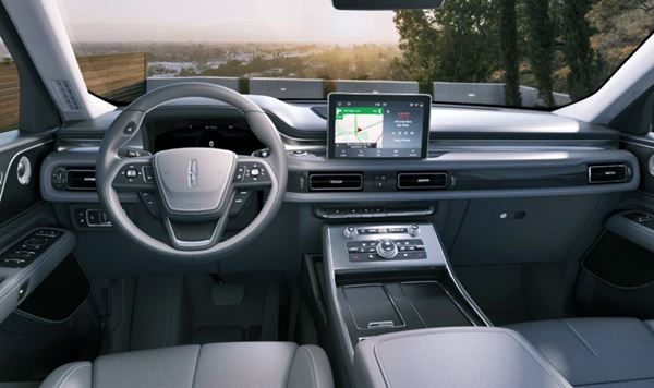2022 Lincoln Nautilus Interior Redesign
