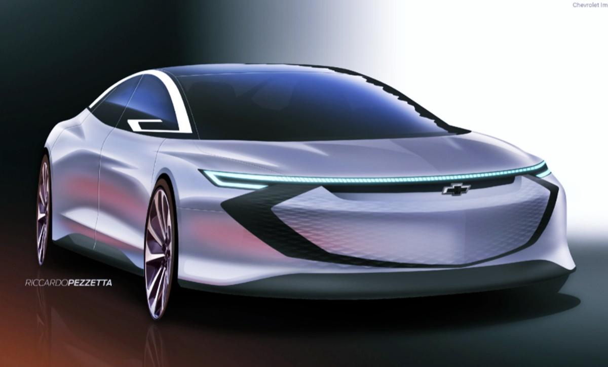 2023 Chevy Impala Rendering