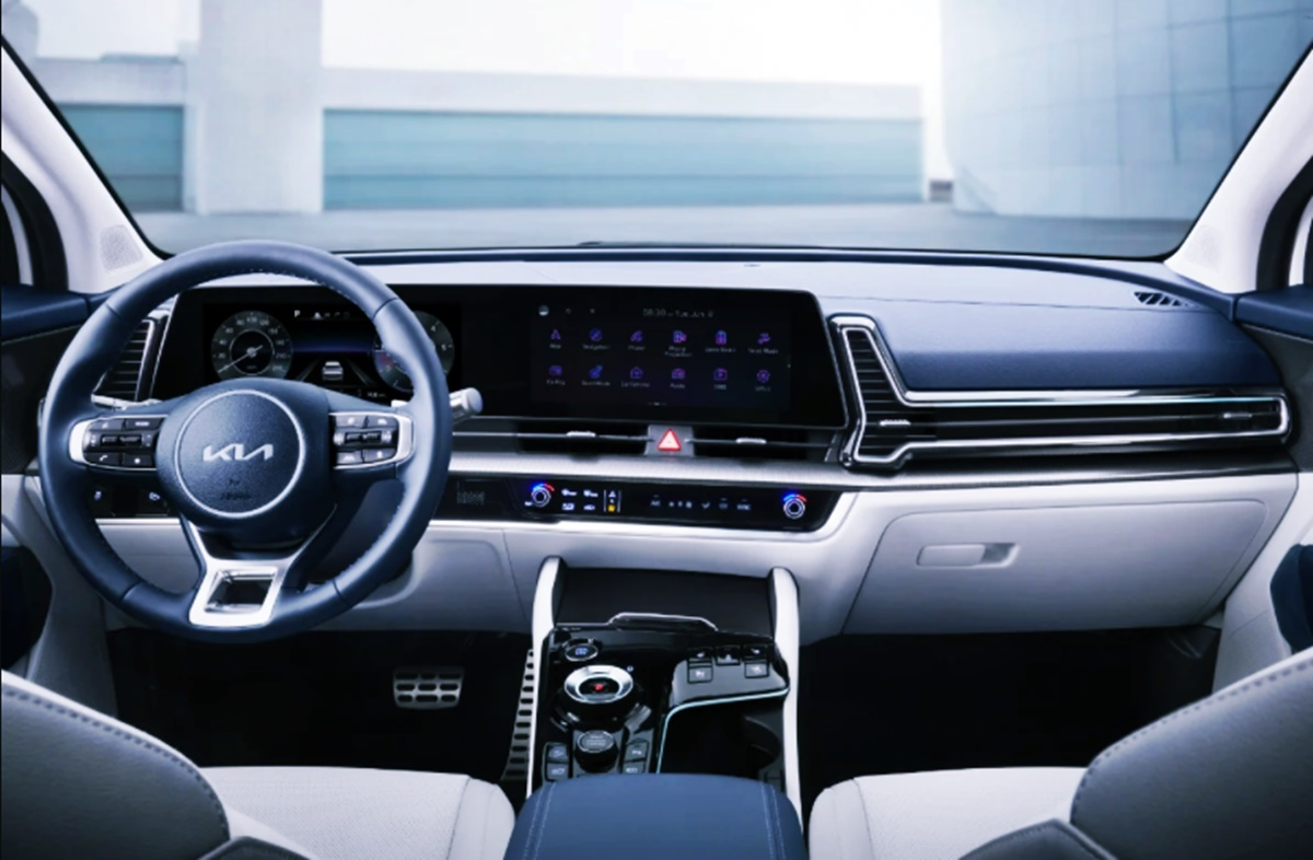 2023 Kia Sportage Hybrid Interior