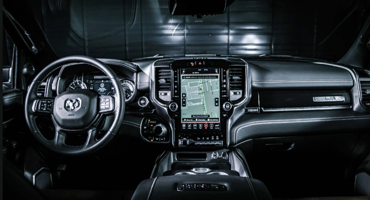 2023 RAM 2500 Interior Redesign