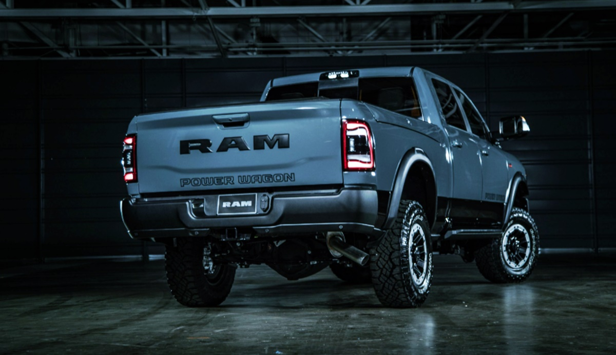 2023 Ram 2500 Exterior Redesign