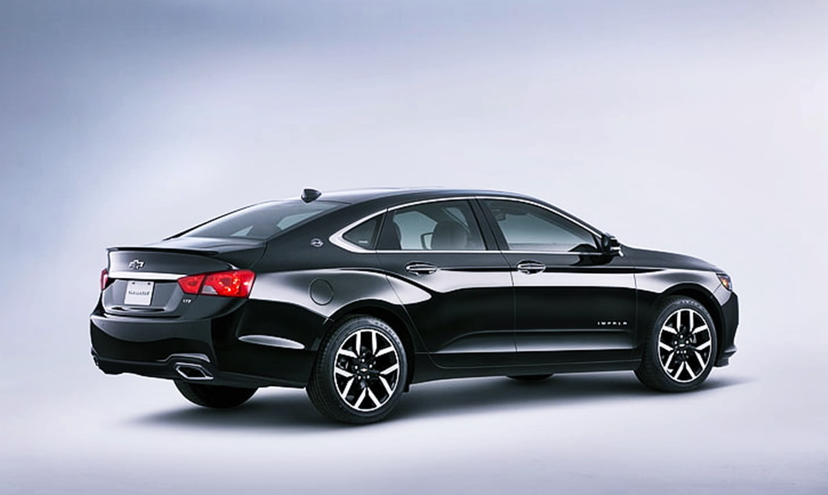 Chevy Impala 2023 Exterior Design
